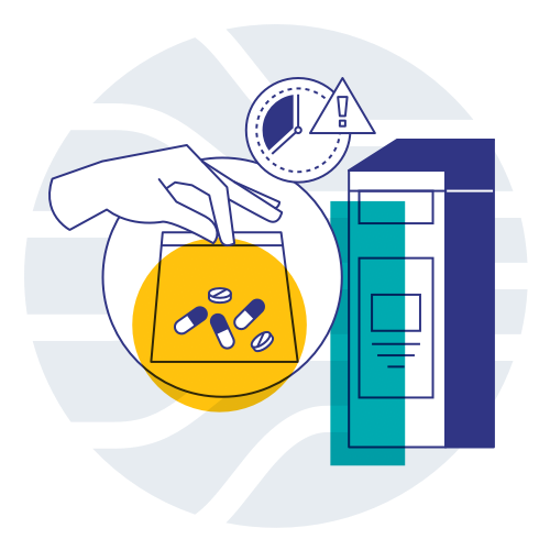 Inmar's LifeInCheck Consumer Drug Take-Back program enables everyone in your community to safely and easily dispose of surplus and expired medications.