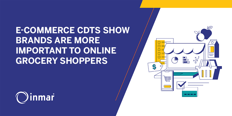 e-Commerce CDTs Show Brands Are More Important to Online Grocery Shoppers