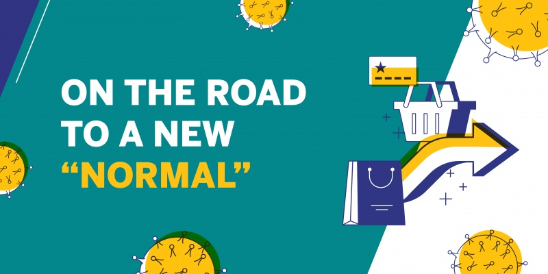 "On the Road to a ""New Normal"" Infographic"