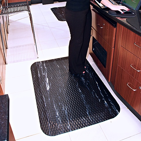 Inmar's ergonomic mat options can increase worker comfort, reduce fatigue, lessen absenteeism, boost productivity, and minimize injury risk.