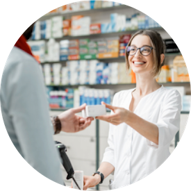 Drives increased foot traffic and pharmacy prescription business