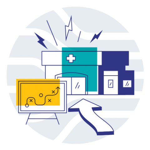 Chain Pharmacy Solutions Icon